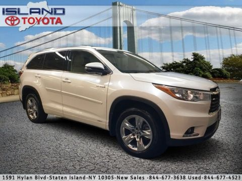 Pre-Owned 2016 Toyota Highlander Hybrid STD All Wheel Drive SUV